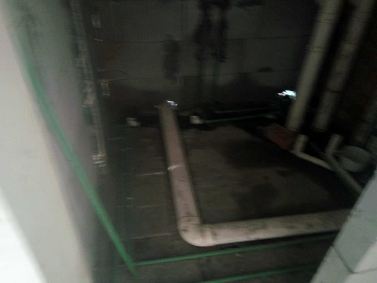 水电工程施工现场,整改工序进行中