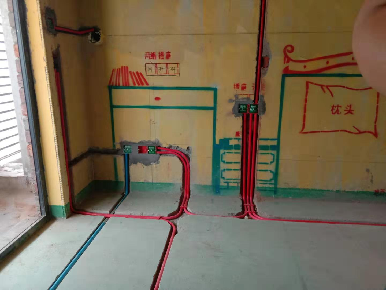 水电验收成功,工地实景照片