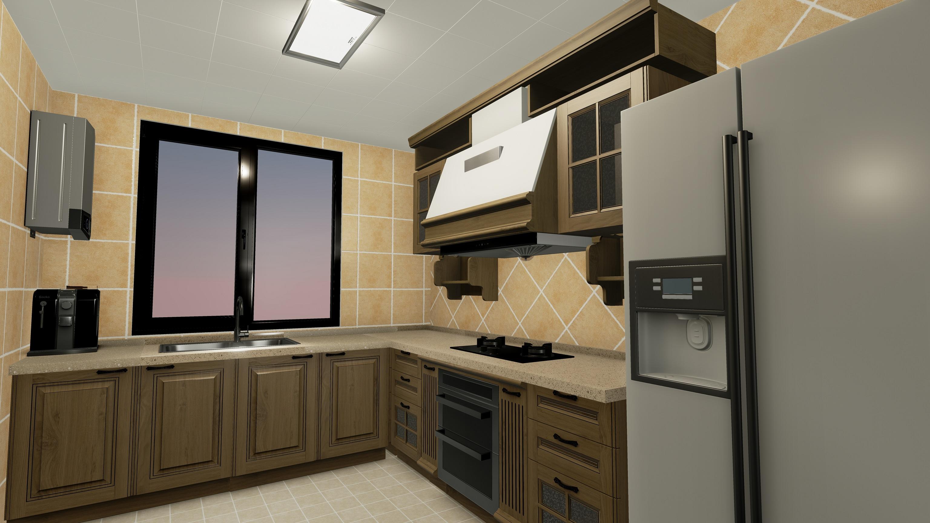 厨房整体翻新