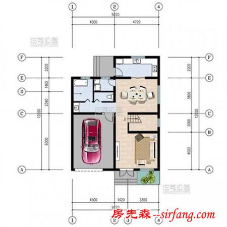 5套现代风自建房小户型,简约时尚,给家人盖一栋!