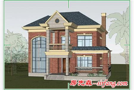 一套两层的别墅设计,小别墅够用且漂亮