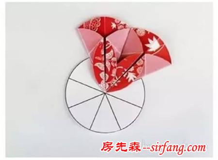 花朵贺卡的制作方法 手工折纸花贺卡diy步骤
