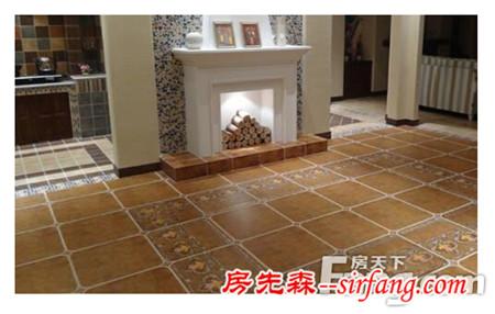 地砖与墙砖的接缝处理?如何清洁地板?