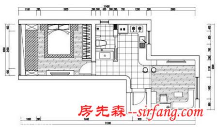 47平超强收纳空间 清纯MM4万轻松装一室一厅田园家