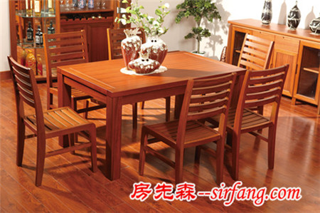 实木餐桌的分类及选购注意事项