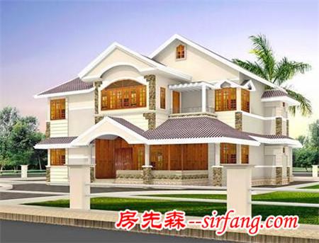9套新农村自建别墅,在这样的房子在农村正流行