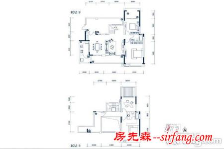 贵阳中铁生态城185平欧式设计,女主喜欢水晶灯!