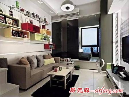 创意收纳吸引眼球 60平简约极品公寓
