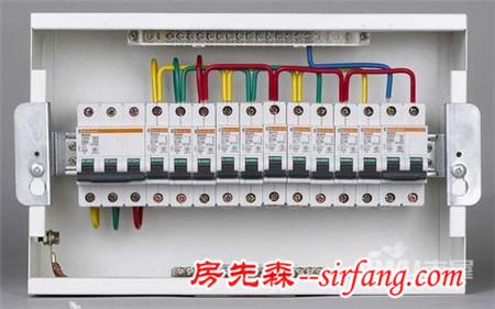 照明配电箱接线图