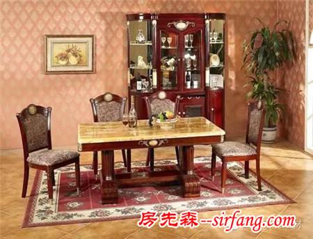 大理石餐桌好不好 大理石餐桌椅优缺点详解