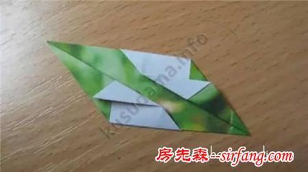 花球折纸步骤图解 手工折花球的方法与图解