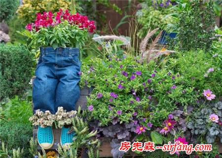 有个喜欢养花的媳妇,家里鞋子都没得穿了