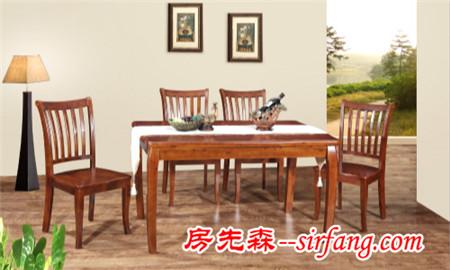木质餐桌,比金属餐桌风水好