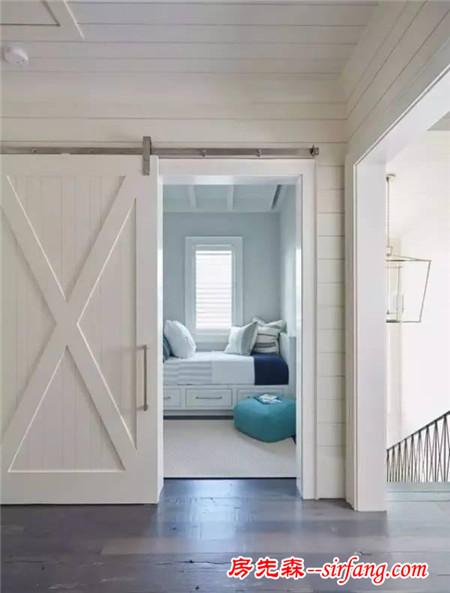 装一扇谷仓门,家里分分钟变洋气_装修设计_房先森互联