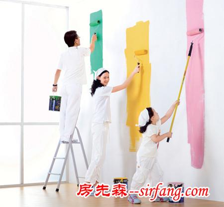 装修课堂:如何令墙面刷漆颜色均匀又平整?