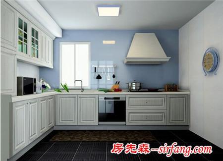 冷色调的整体厨房装修方法 冷色调的整体厨房效果图