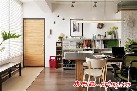 76平室内设计师的家兼工作室
