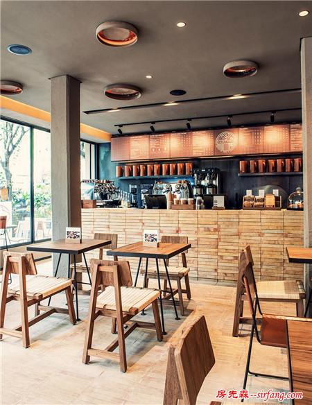 墨西哥精美咖啡厅设计,浓郁又直率的美式风情