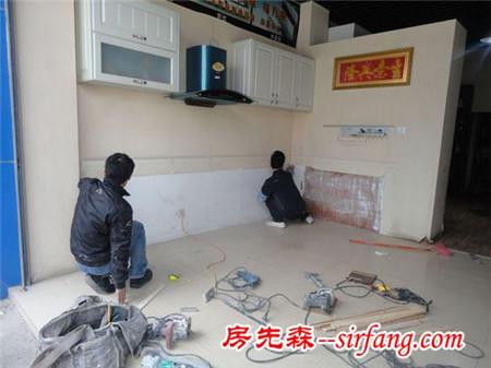 水泥板整体厨房设计 水泥板整体厨房装修全过程