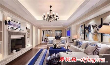 90平小户型装修样板房,演绎极限美式家居