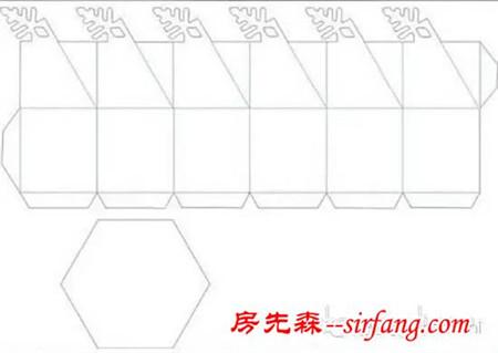 如何折纸六边形包装盒?这下终于知道了图片