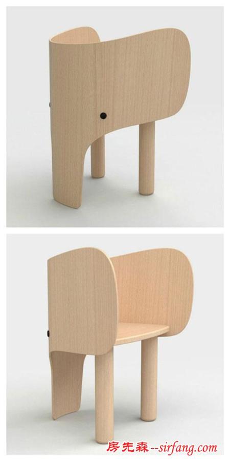 装修攻略 装修新闻 正文  名为大象椅的设计作品,大象的鼻子成了椅子
