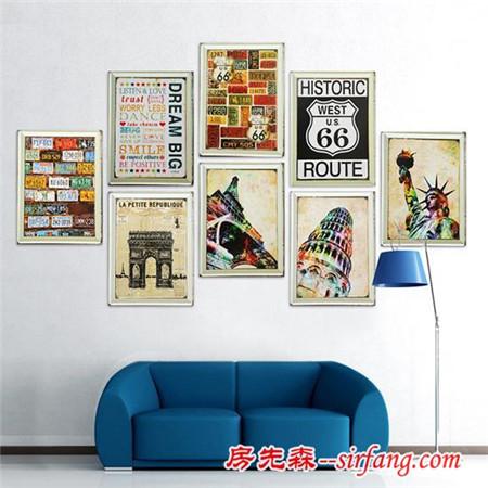 艺术装饰画让墙面颜值up