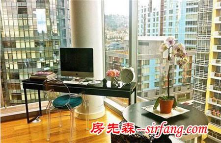 8款大玻璃窗户书房设计 让你在高处赏风景