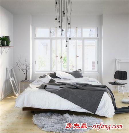 30张小户型北欧风卧室装修设计案例,老公不早点回家才怪!
