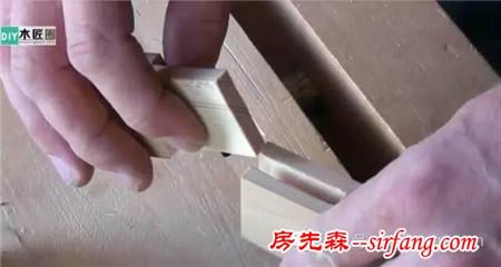 木工榫卯结构图解,转角三缺榫的制作图解