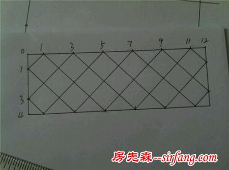 菱形怎么画步骤