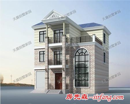 农村12.4x12米别墅设计图,简欧彰显文艺气质!