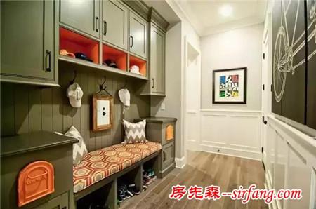 77款实用美观玄关鞋柜,给你的鞋子找个家!