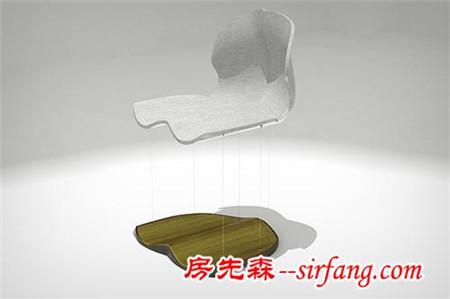 磁悬浮椅子 这真的不是魔术