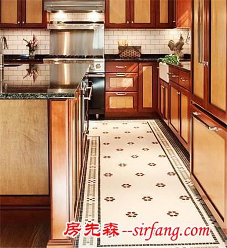 地板和瓷砖花样拼贴,效果惊艳!