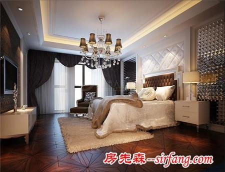 (西安)——中海铂宫420㎡欧式豪宅装修 高贵典雅舒适!