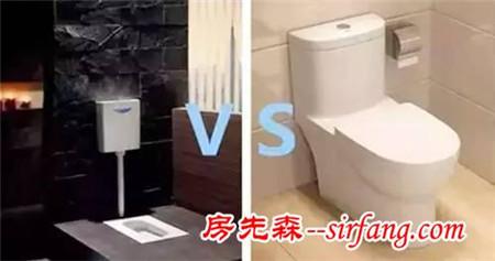 马桶好还是蹲便器好?哪种更适合中国家庭?