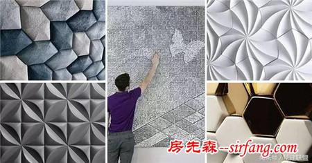 3D瓷砖正在全面占领墙面,壁纸不再是墙面的宠儿