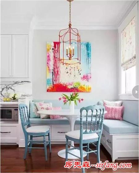 不需要多大的空间就可以在家里做一个貌美如花的卡座