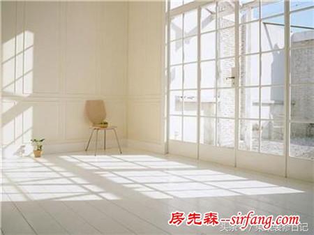装修房子有个落地窗,满载着希望的四季变化的风景!