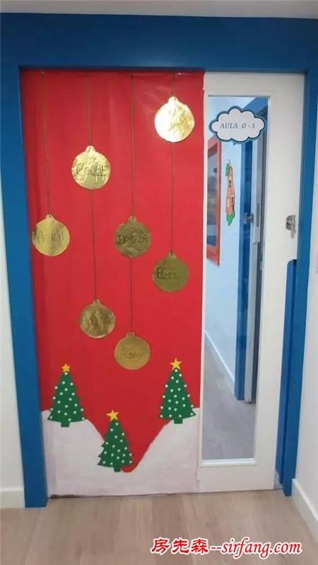 幼儿园亲子手工之圣诞环创,超多素材完美解决室内装饰