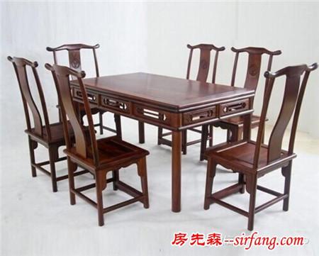 红木餐桌:舌尖上的一抹中国红