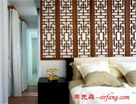 紅木地板配窗簾效果圖