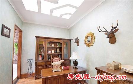 美式家居装饰图,宽大又舒适,极致享受!
