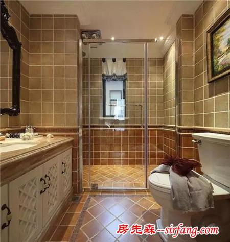 淋浴区干湿分离格局的几大分类,来看看有没有你家的?