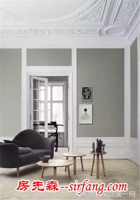 客厅顶面石膏线装修效果图