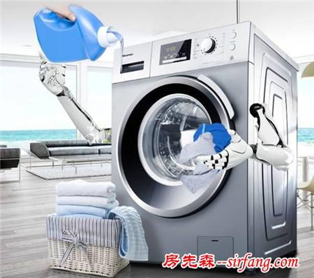 如果洗衣机被冻住了,该怎么办?