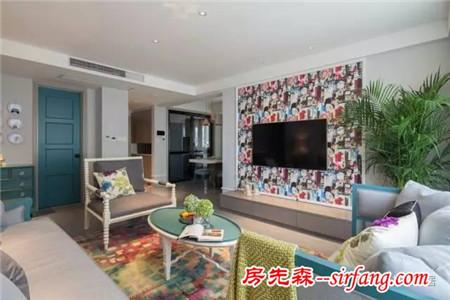 新房客厅背景墙装成这样,一回家就舍不得出门!