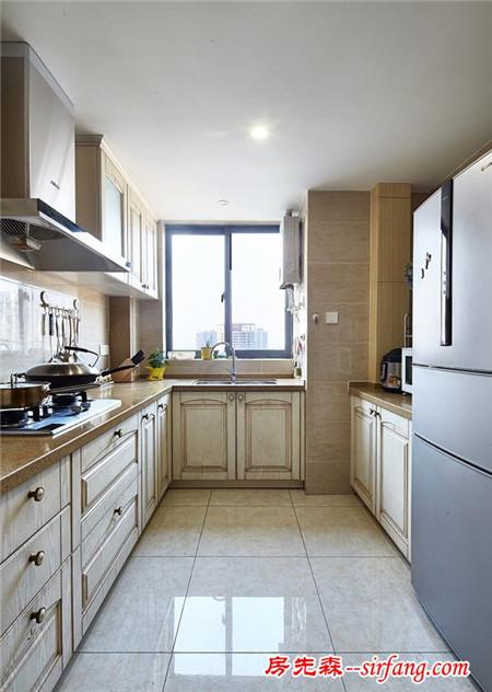 冰箱放哪好?6款小户型厨房冰箱摆放位置图片