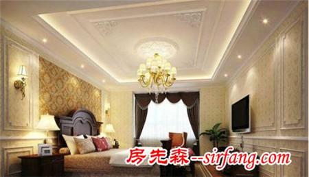 客厅石膏线设计